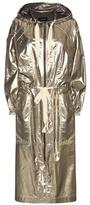 Isabel Marant Namil Metallic Silk-blend Coat