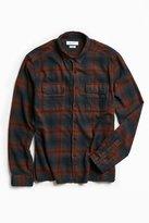 Urban Outfitters Tarmac Trucker Flannel Button-Down Shirt