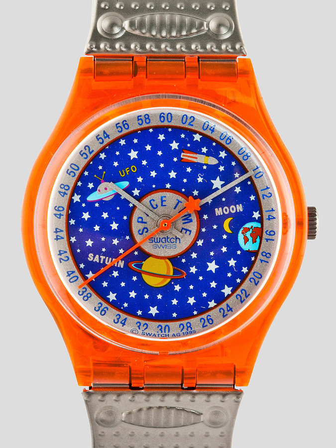 American Apparel Vintage Swatch Starry Sky Watch