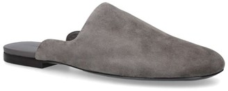 The Row Suede Granpa Slippers