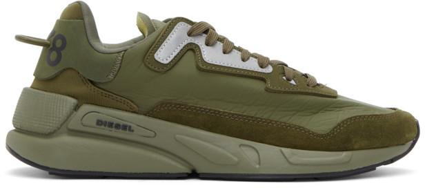 Diesel Green Men's Shoes   Shop the