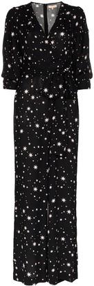By Ti Mo byTiMo star print tie-waist jumpsuit