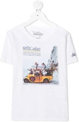 MC2 Saint Barth Beach Boys Safari print T-shirt