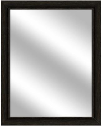 PTM Images Over the sink Vanity Mirror, Espresso, 25.5x31.5