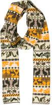 Stella McCartney Printed Wool Scarf