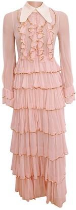 Gucci Pink Silk Dresses