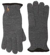 Polo Ralph Lauren Men's Classic Merino Wool Gloves