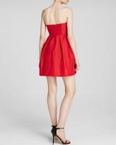 Jill Stuart Jill Dress - Strapless Stretch Taffeta Bow Bodice