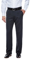 Haggar H26 - Men's Straight Fit Pants Charcoal Heather 30X30