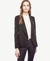 Ann Taylor Triacetate Open Jacket
