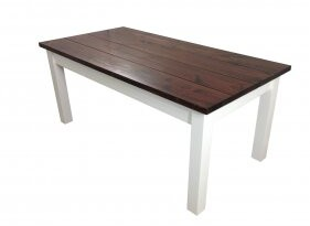 Ezekiel and Stearns Solid Wood Dining Table and Stearns