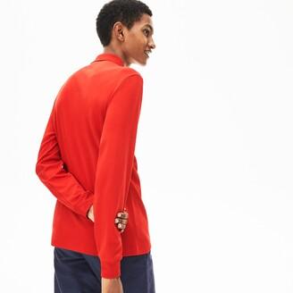 Lacoste Men's Long Sleeve Pima Cotton Polo