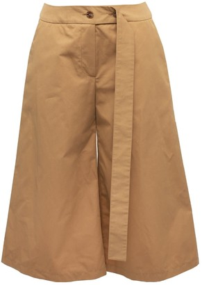 Lake Studio Belted Cotton Shorts