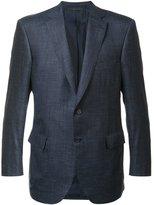 Brioni two button blazer - men - Silk/Linen/Flax/Cashmere - 50