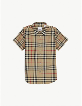 Burberry Fred Vintage check cotton Oxford shirt 3-14 years