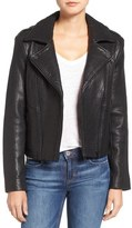 Joe's Jeans 'Rene' Leather Moto Jacket