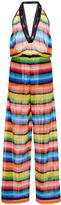 Missoni Striped Halter Neck Jumpsuit