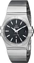 Omega 12310352001002 Men's Wrist Watches, Dial, Silver Band