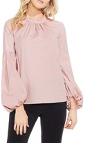 Vince Camuto Petite Women's Balloon Sleeve Blouse