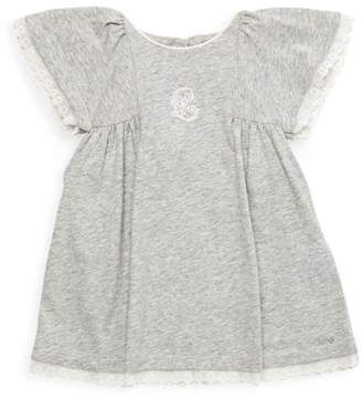 Chloé Baby's & Little Girl's Lace-Trimmed Cotton Dress
