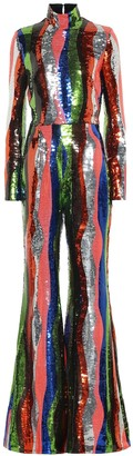 Halpern Sequined jumpsuit