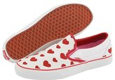Vans - Classic Slip-On ((Multi Heart) True White/Red)