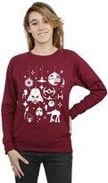 Star Wars Women's Christmas Decorations Sweatshirt