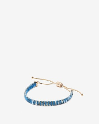 Express Yarn Wrapped Pull-Cord Bracelet