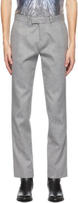 Paco Rabanne Grey Wool Trousers