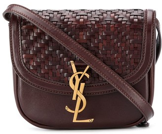 Saint Laurent Woven Satchel