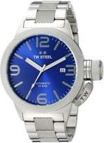 TW Steel Men's CB15 Analog Display Quartz Silver Watch