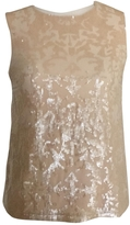 Givenchy Beige Silk Top