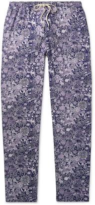 Zimmerli Paisley-Print Jersey Pyjama Trousers