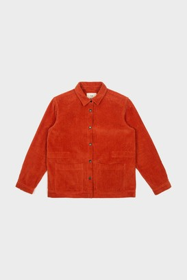 Folk Brick Red Cord Painters Jacket - Brick Red Cord | Medium