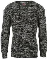 Lee Cooper Kids Girls Chunky Knit Jumper Long Sleeve Sweater Pullover Top