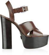 Michael Kors Crista leather platform sandals