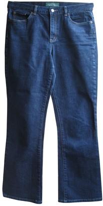 Lauren Ralph Lauren Navy Cotton - elasthane Jeans for Women