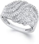 Wrapped in LoveTM Diamond Twist Ring in Sterling Silver (1 ct. t.w.)