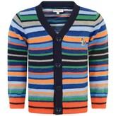 Paul Smith JuniorBaby Boys Striped Knitted Perino Cardigan
