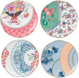 Wedgwood Set of 4 Butterfly Bloom Tea Plates