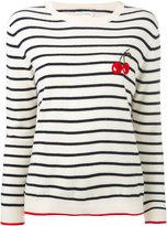 Chinti and Parker cashmere cherry breton sweater - women - Cashmere - XS