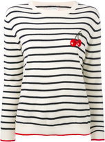 Chinti and Parker cashmere cherry breton sweater