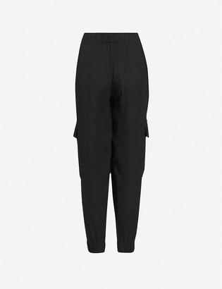 AllSaints Freida regular-fit crepe trousers