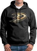 Sarah Men's Anaheim Ducks Gold Hoodie L