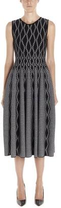 Valenti Antonino Pleated Sleeveless Dress
