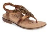 Aetrex Women's Sheila Embellished Sandal