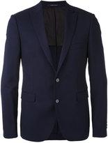 Tagliatore flap pocket blazer - men - Cupro/Virgin Wool - 48