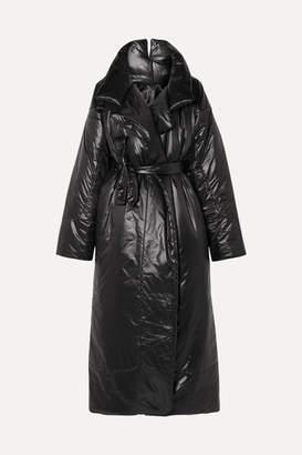Norma Kamali Sleeping Bag Oversized Shell Coat - Black