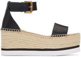 See by Chloe Black Glyn Platform Sandals