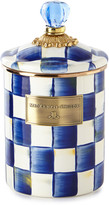 Mackenzie Childs Royal Check Medium Canister